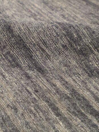 CANTERBURY SILK PLAIN CHARCOAL / BLACK