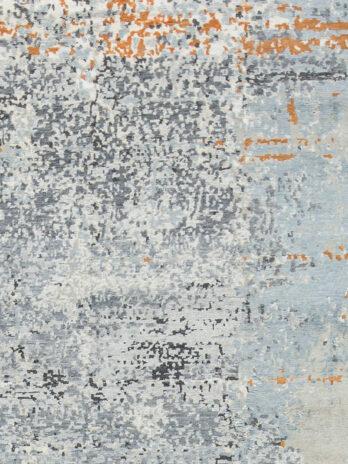 CANVAS ART WOOL / VISCOSE B-9950 (B9950) NATURAL / RUST