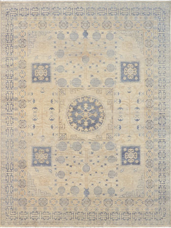 TURKESTAN SAKA IVORY / BLUE