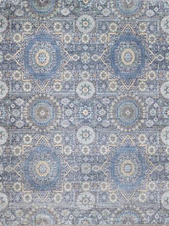 CANTERBURY SILK GMK06 DARK GREY / BLUE