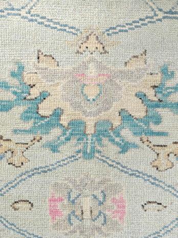BODRUM OUSHAK SC074 BLUE / IVORY