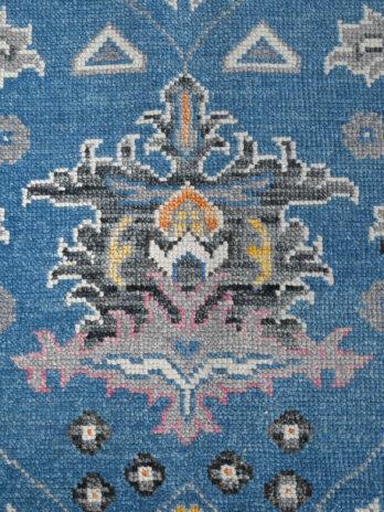 BODRUM OUSHAK SC091 BLUE / IVORY