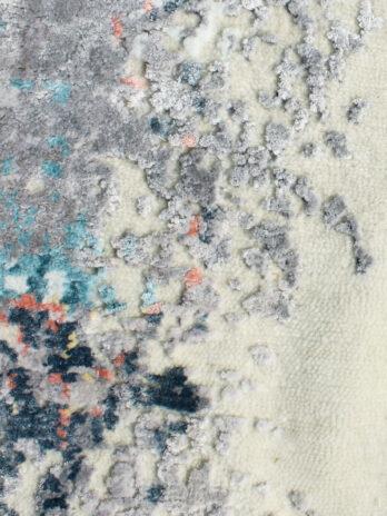 CANVAS ART WOOL / VISCOSE KS-157 (KS157) GREY / NATURAL