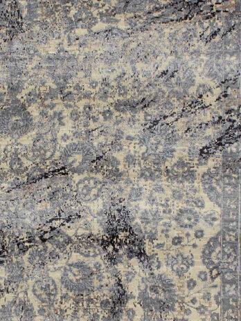 CANVAS ART WOOL / VISCOSE ND-16 NATURAL / WHITE