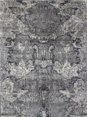 CANVAS ART WOOL / VISCOSE ND-17 DARK GREY