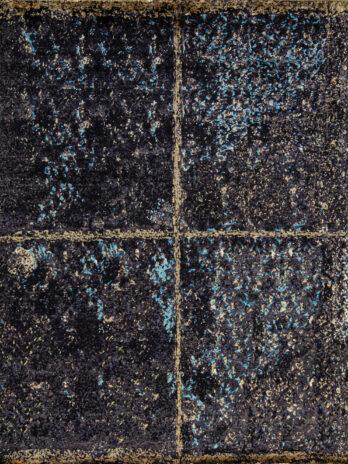 NEO VILLA COLLECTION AL612 CHARCOAL / LIGHT BLUE